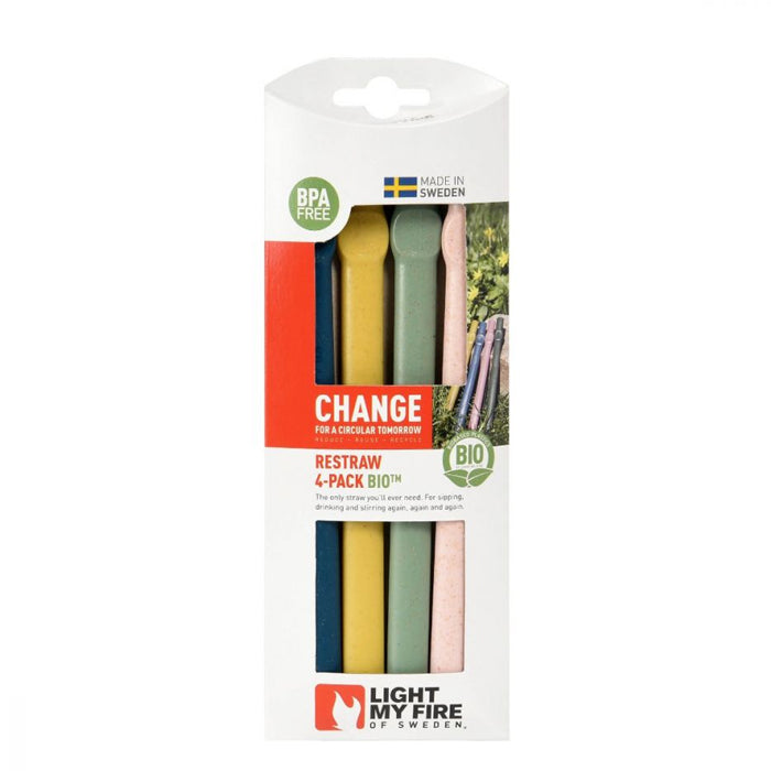 Light My Fire ReStraw™ BIO 4-Pack Nature