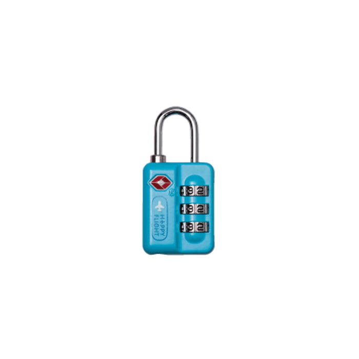 ALIFE DESIGN Unisex's HF TSA Travel Lock-C.Blue