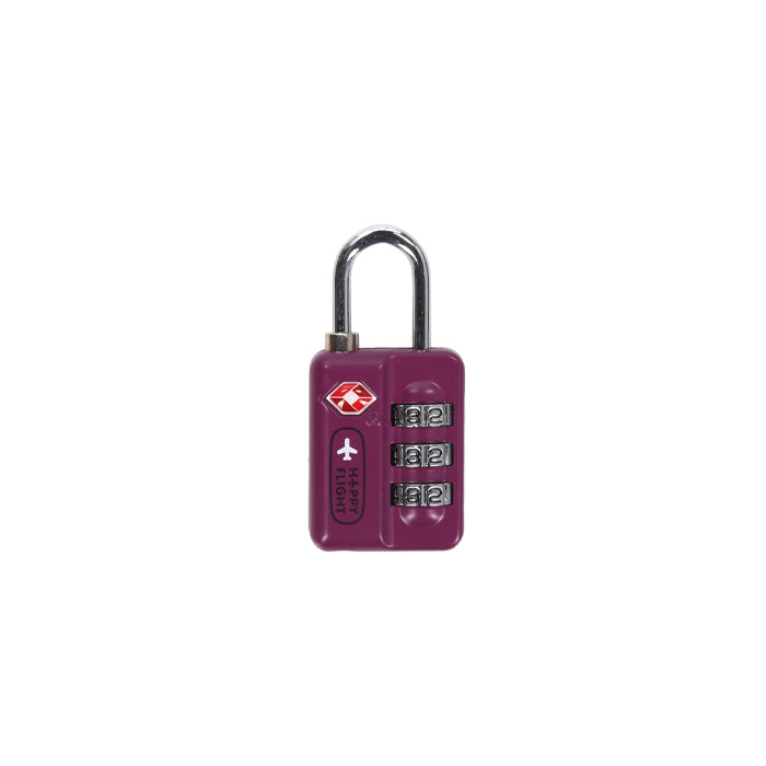 ALIFE DESIGN Unisex's HF TSA Travel Lock-Violet