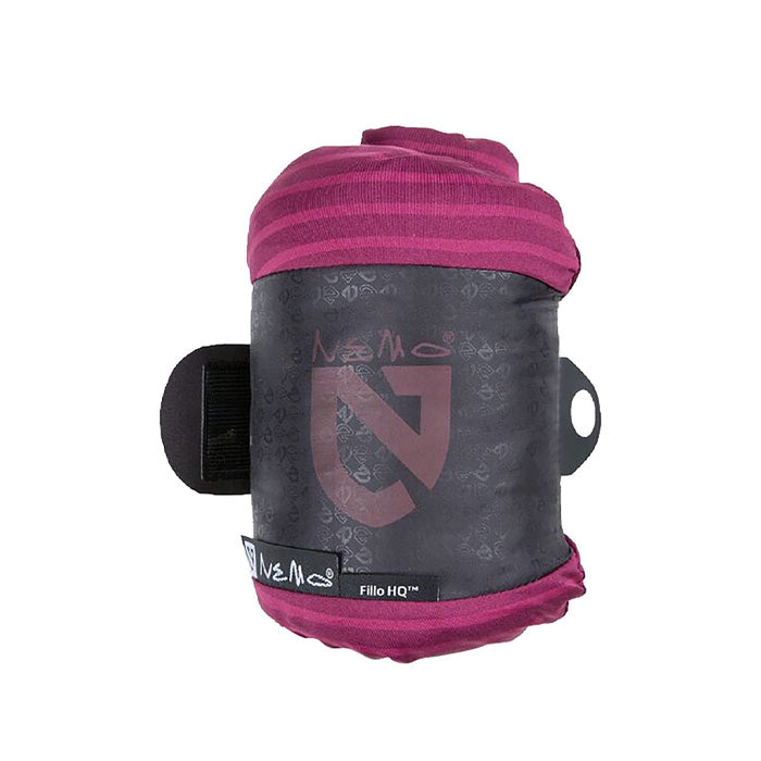 Nemo FILLO™ HQ Travel Pillow Purple Stripe