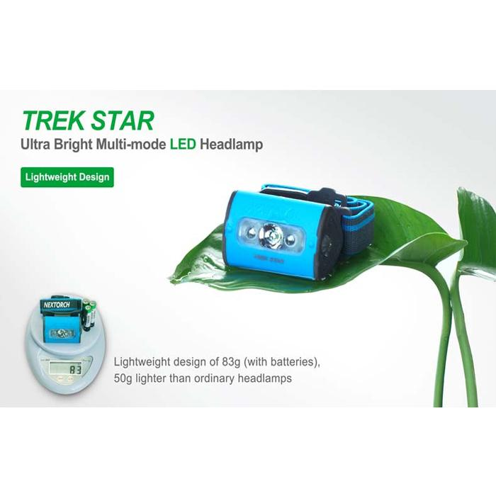 NEXTORCH Trek Star Headlamp 多功能頭燈