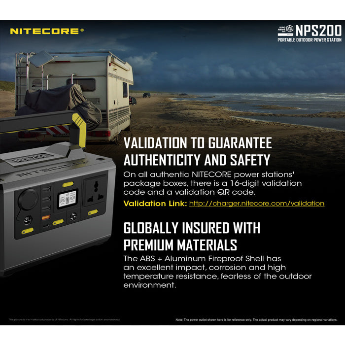 Nitecore NPS200 Portable Outdoor Power Station 移動電源 | Nitecore NPS200 Portable Outdoor Power Station