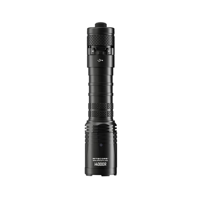 Nitecore i4000R 4400 Lumens USB-C Rechargeable Tactical Flashlight 4400流明USB-C充電手電筒