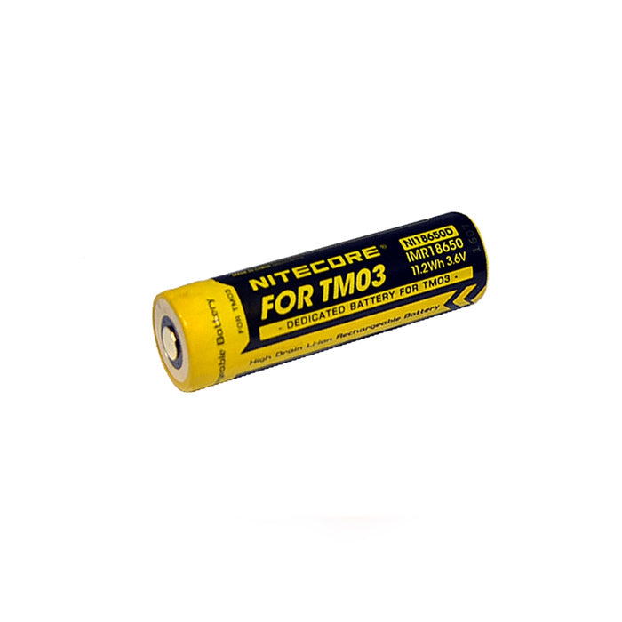 Nitecore IMR18650 Rechargeable Battery for TM03 充電池 (TM03專用)