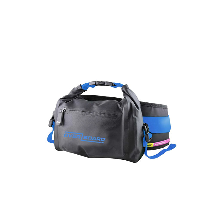OverBoard 4 Litre Pro-Light Waist Pack- Light Blue
