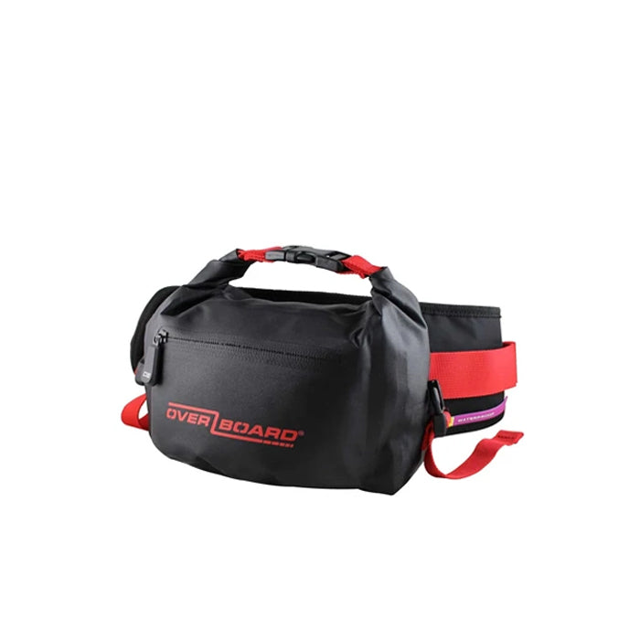 OverBoard 4 Litre Pro-Light Waist Pack- Red