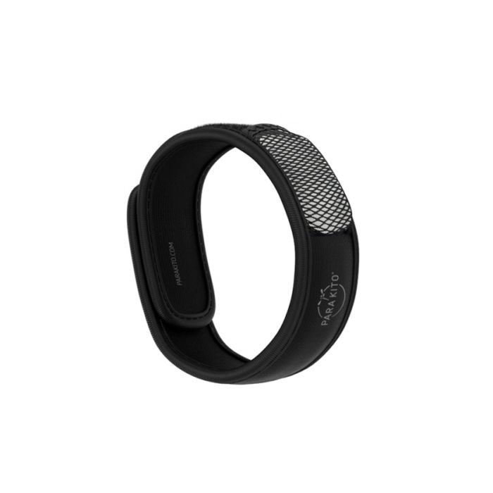 Parakito Wristband Black 驅蚊手帶 (黑色) (連驅蚊片 x2) | Parakito Wristband Black (2 Refills included)