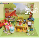 Re-Ment Let's go! Weekend Camp! (8 Items)