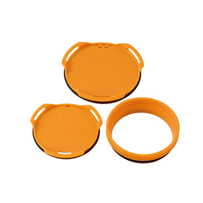 SOTO ThermoStack Color Lid & Joint Set SOD-5211 杯蓋及套環套裝 (ThermoStack Cooker Combo 專用)