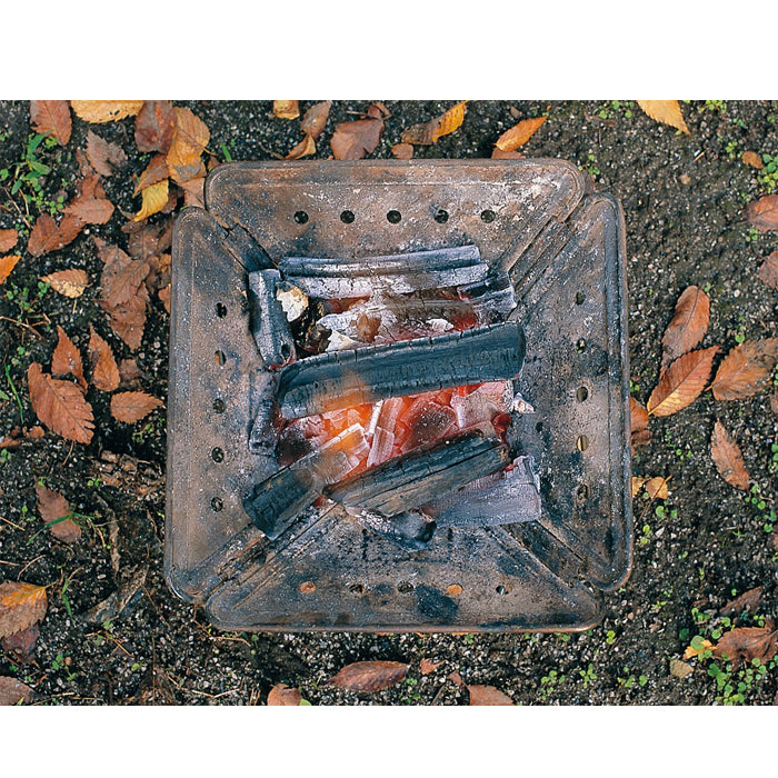 Snow Peak Pack & Carry Fireplace Cast Iron Coal Bed Pro. S ST-031S 焚火台(S)專用鑄鐵炭床