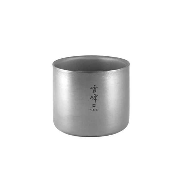 Snow Peak 雪峰鈦雙層杯三件套裝 (中) Titanium Double Wall Ware Combo Set M TW-136 | Snow Peak Titanium Double Wall Ware Combo Set M TW-136