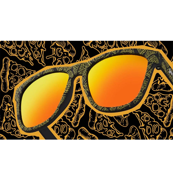 Goodr Sports Sunglasses - The Passion of The Crust