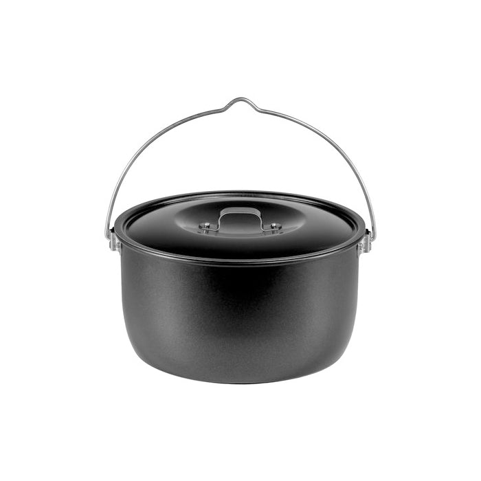 Trangia Billy Can with Lid 4.5L Black 502254