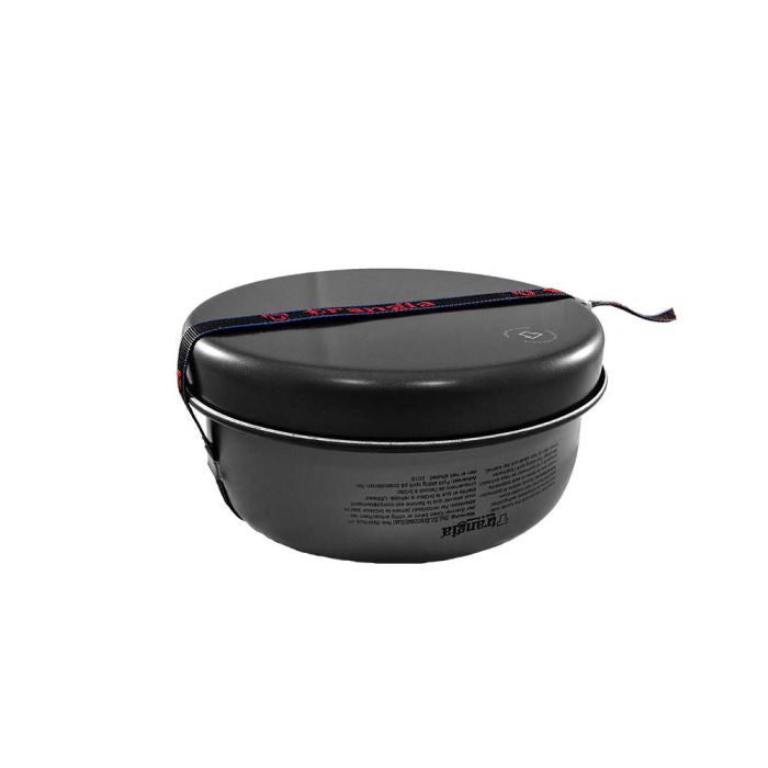 Trangia 27-6 HA 超輕硬鋁酒精爐套鍋(連水煲) | Trangia 27-6 Ultralight Hard Anodized Camping Cookset (with kettle)