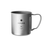 Snow Peak Titanium Single Wall Mug 450ml 單層鈦杯 Cup MG-143 (復刻版)