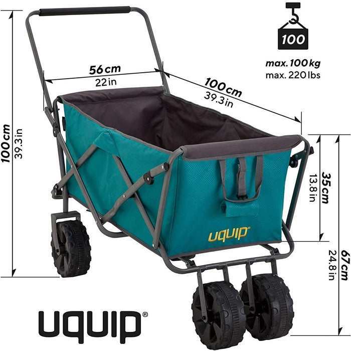 Uquip Buddy Foldable Beach Cart