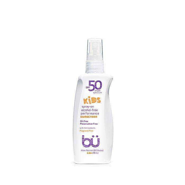 BU Kids SPF 50 Fragrance Free Sunscreen Spray 98ml 不含酒精兒童防曬噴霧