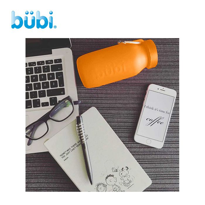 Bubi Collapsible Water Bottle 425ml 摺疊矽膠水樽
