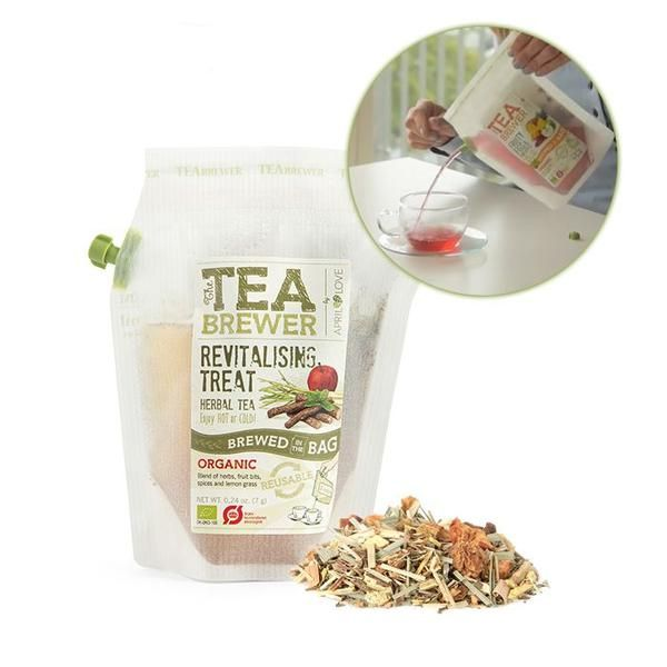 April Love The TeaBrewer - Revitalising Treat Organic 隨身茶包 戶外茶包 露營茶包 | April Love The TeaBrewer - Revitalising Treat Organic