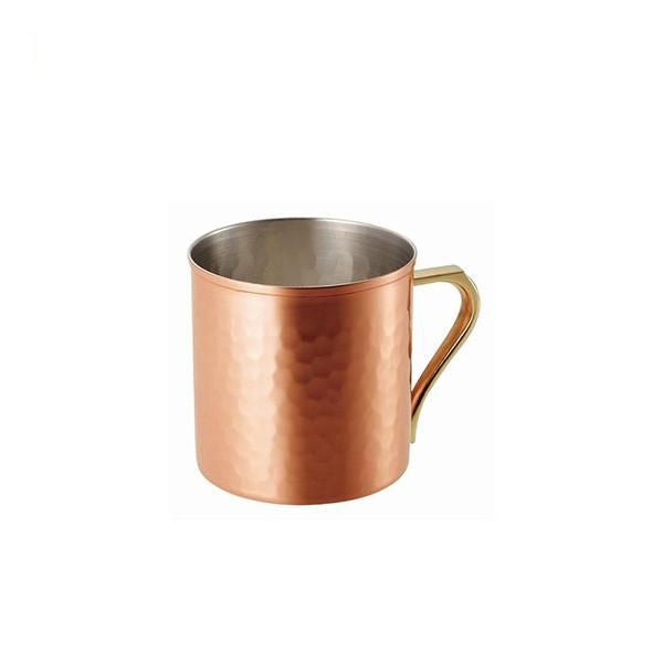 食樂工房 銅製水杯 (360ml) Asahi CNE-906 | Asahi Hammered Pattern Copper Special Mug (360ml) CNE-906