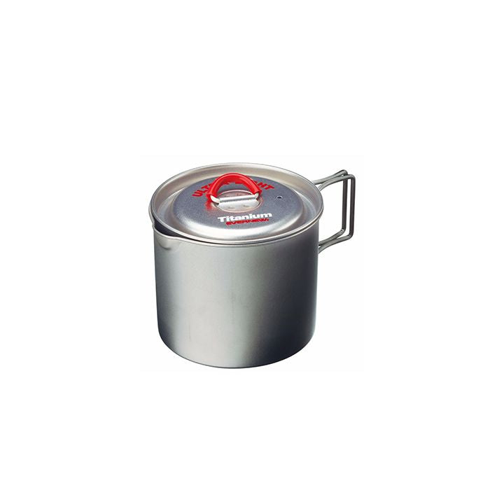 EVERNEW Ultra Light Titanium Pot 0.5L ECA266R 超輕鈦煲0.5L