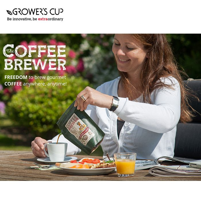 Grower's Cup The CoffeeBrewer - Brazil Fairtrade 隨身濾泡咖啡 戶外咖啡 露營咖啡 (巴西) | Grower's Cup The CoffeeBrewer - Brazil Fairtrade