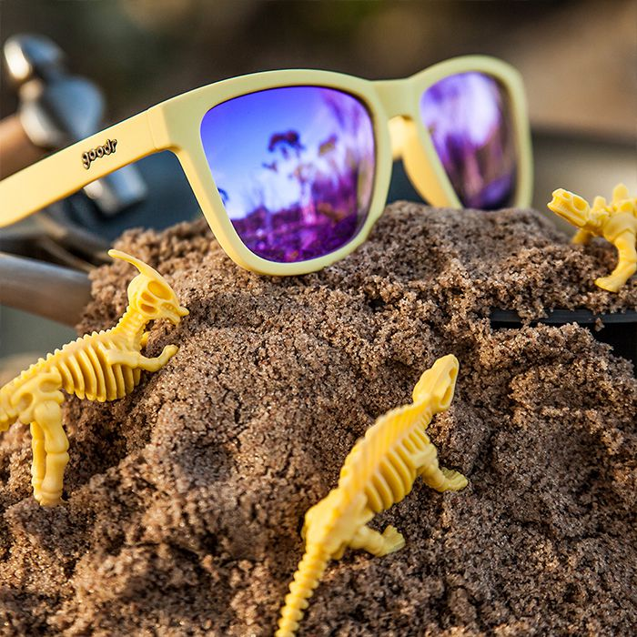 Goodr Sports Sunglasses - Not the Mama 運動跑步太陽眼鏡 (黃/紫) | Goodr Sports Sunglasses - Not the Mama (Yellow/Violet)