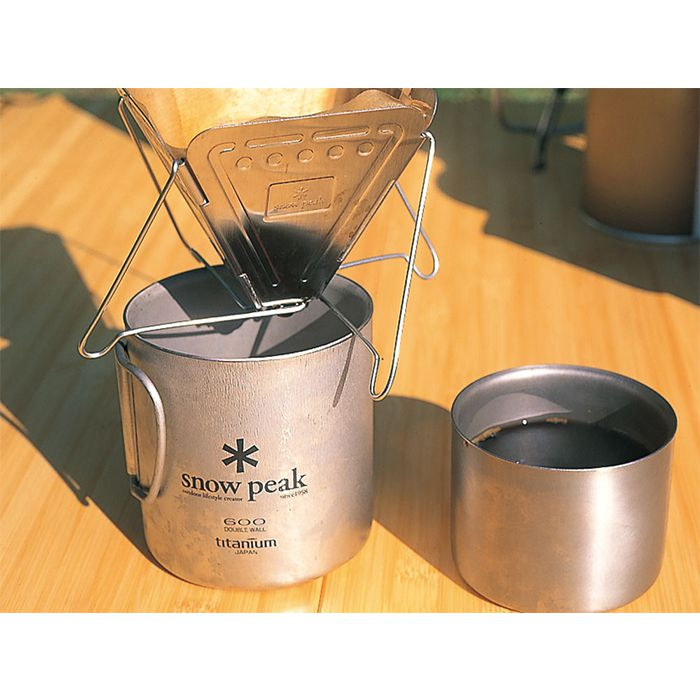 Snow Peak Coffee Drip 焚火台式咖啡濾杯 CS-113 | Snow Peak Coffee Drip CS-113