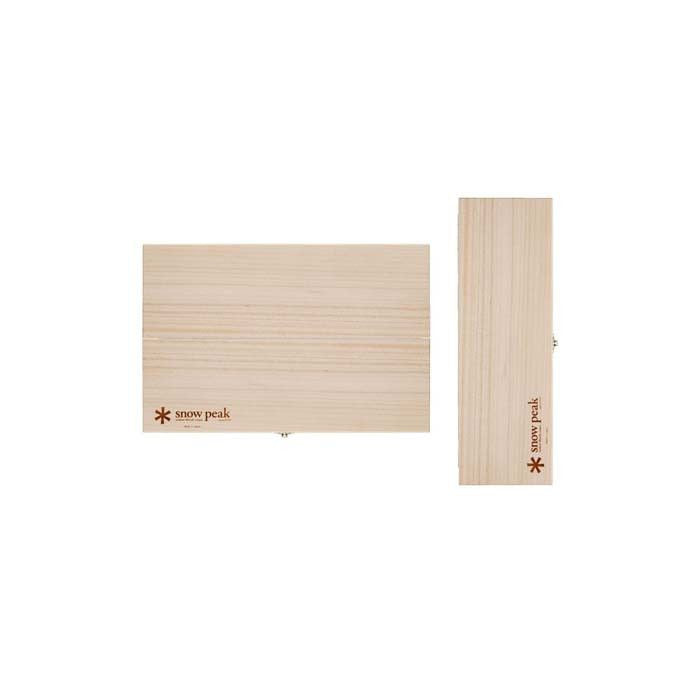 Snow Peak CS-208 戶外砧板刀組套裝L | Snow Peak Cutting board set L CS-208