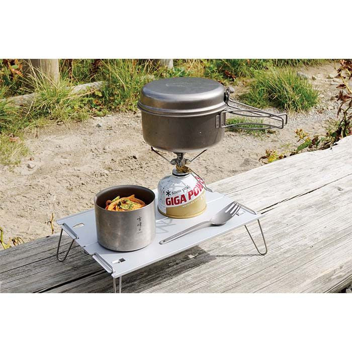 Snow Peak 4-pc Titanium Cookset 鈦金屬煮食雙鍋四件套裝 SCS-020T | Snow Peak 4-pc Titanium Cookset SCS-020T