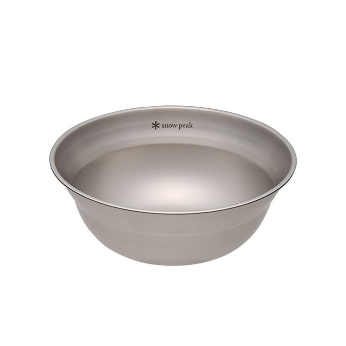 Snow Peak Tableware Bowl M 不鏽鋼湯碗(中) TW-030