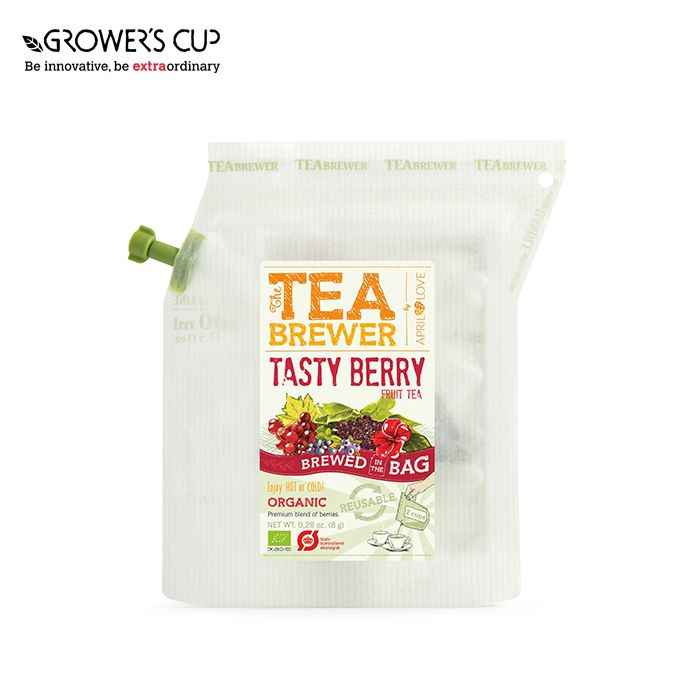 April Love The TeaBrewer - Tasty Berry Organic 隨身茶包 戶外茶包 露營茶包  (有機雜莓) | April Love The TeaBrewer - Tasty Berry Organic