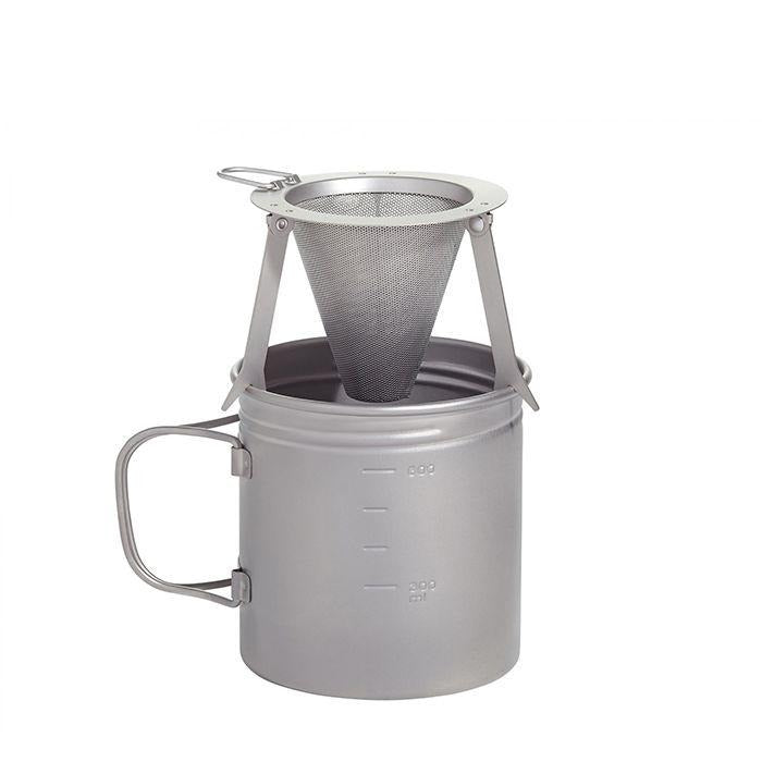 VARGO Titanium Travel Coffee Filter 攜帶型鈦金屬製咖啡濾杯