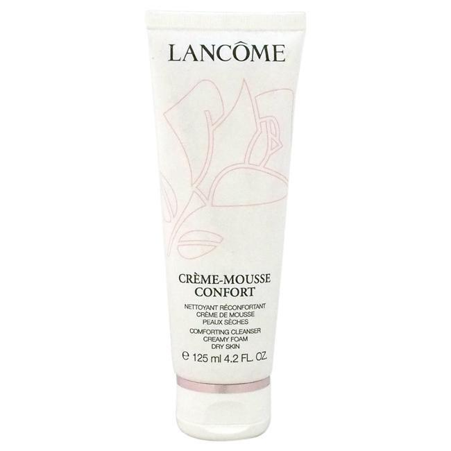 Creme-Mousse Confort Comforting Cleanser Creamy Foam by Lancome for Unisex - 4.2 oz Cleanser