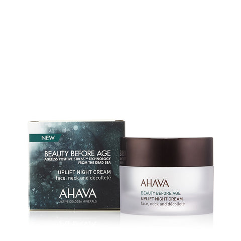 Beauty Before Age Uplift Night Cream by Ahava 1.7 oz.