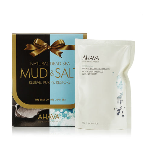 Natural Dead Sea Mud & Salt Set by Ahava