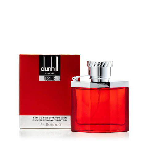 Desire Red Eau de Toilette Spray for Men by Alfred Dunhill 1.7 oz.