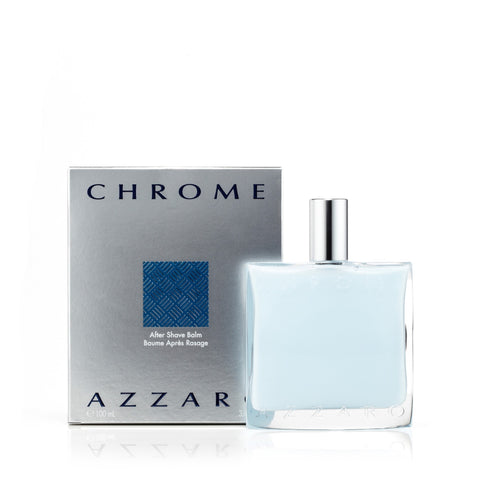 Chrome After Shave Balm for Men by Azzaro 3.4 oz.