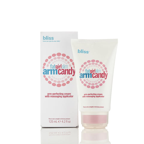 Fat Girl Slim Arm Candy Arm Perfecting Cream by Bliss 4.2 oz.