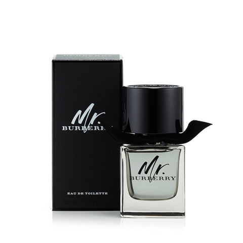 Mr Burberry Eau de Toilette Spray for Men by Burberry 1.6 oz. image