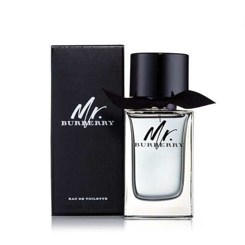 Mr Burberry Eau de Toilette Spray for Men by Burberry 3.3 oz. image