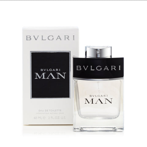 Man Eau de Toilette Spray for Men by Bvlgari 2.0 oz.