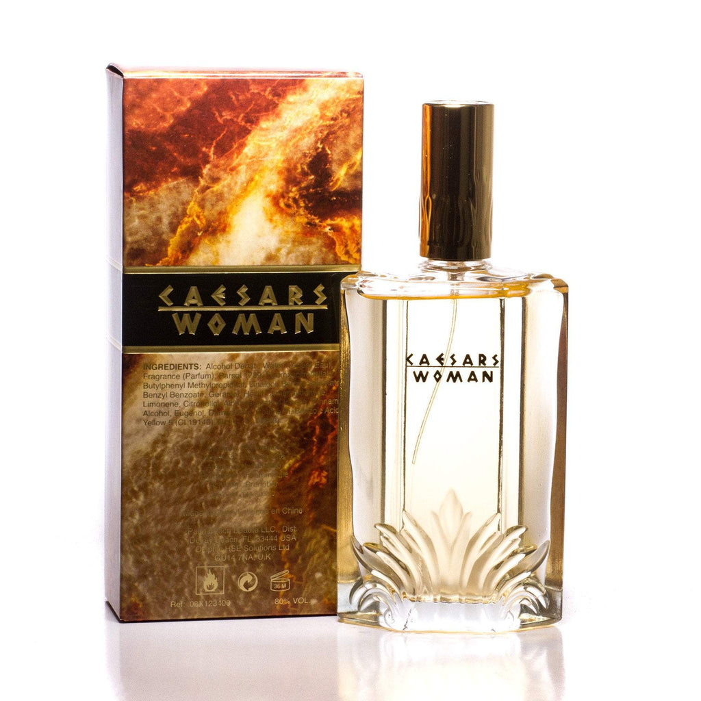 Caesar's Woman Eau de Parfum Spray for Women by Caesar's 3.4 oz.