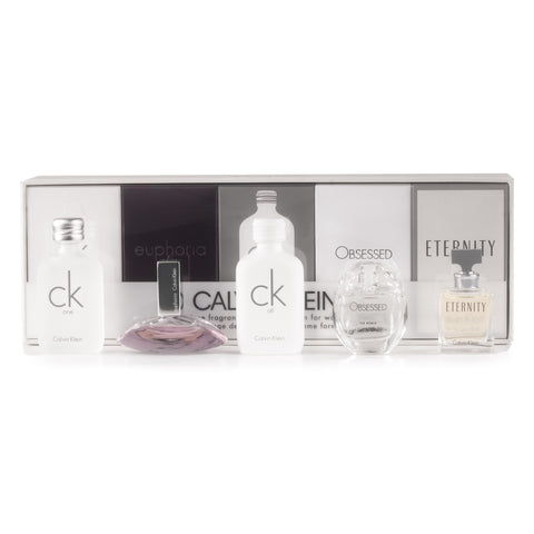 Calvin Klein Mini Set for Women by Calvin Klein 0.17 oz. Each