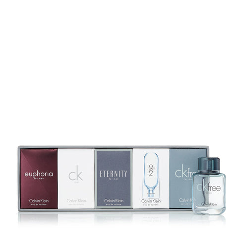 Calvin Klein Miniature Set for Men by Calvin Klein 0.3 oz. Each