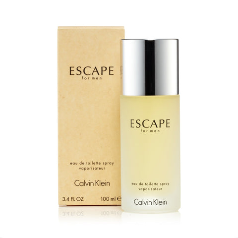 Escape Eau de Toilette Spray for Men by Calvin Klein 3.4 oz.