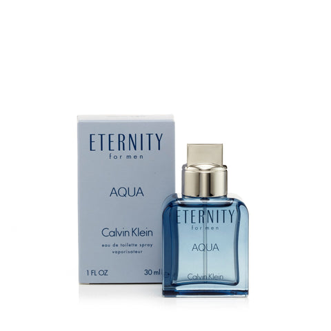 Eternity Aqua Eau de Toilette Spray for Men by Calvin Klein 1.0 oz.