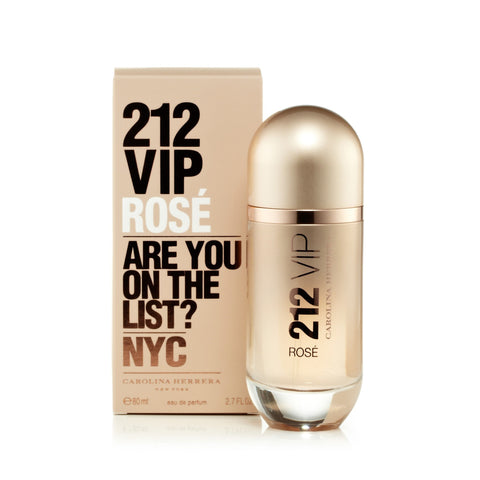 212 Vip Rose Eau de Parfum Spray for Women by Carolina Herrera 2.7 oz.