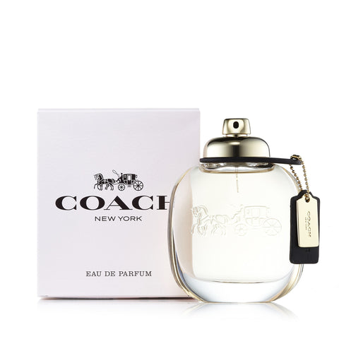 Coach New York Eau de Parfum Spray for Women by Coach 3.0 oz.