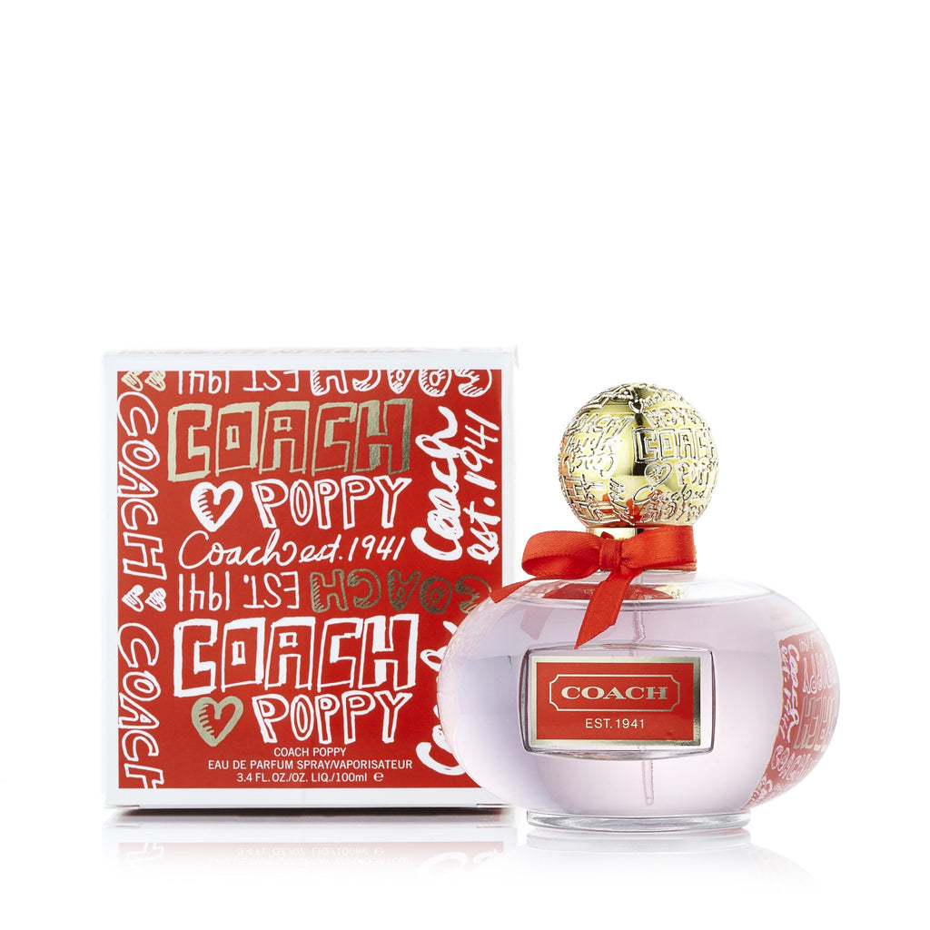 Coach Poppy Eau de Parfum Spray for Women by Coach 3.4 oz.
